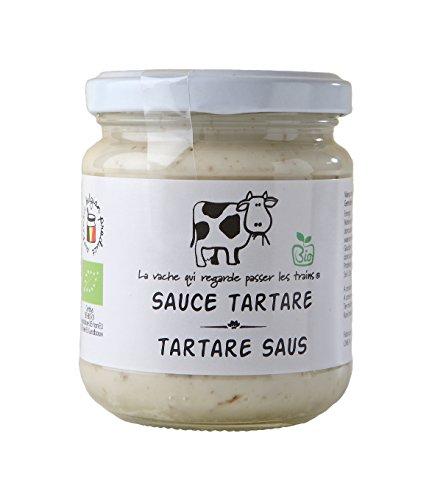 La vache qui regarde passer les trains Bio Tartare Sauce, 2er Pack (2 x 190 g)