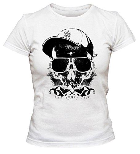 Thug Cooles Party Damen T-Shirt_weiss_L