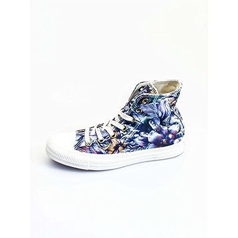 Converse Fleur - Converse Chuck Taylor Hi Canvas Graphic femmes,