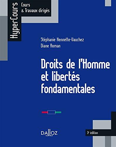 Droits de l'Homme et liberts fondamentales - 3e d.