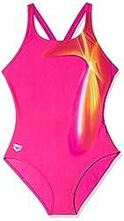 Arena 23891-99 Misako Swimsuit (Fuchsia/Bubble Pink)
