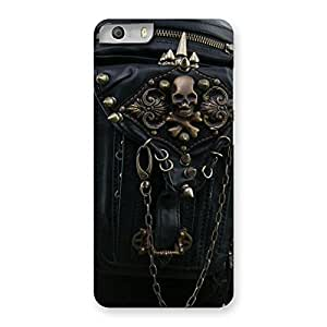 Cute Zip Chain Back Case Cover for Micromax Canvas Knight 2