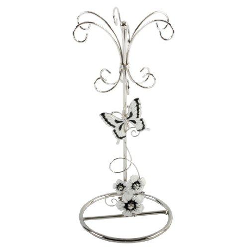 juliana-glass-wire-black-silver-flowers-jewellery-holder