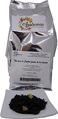 Thé noir de Ceylan aux fruits de la passion 100 g