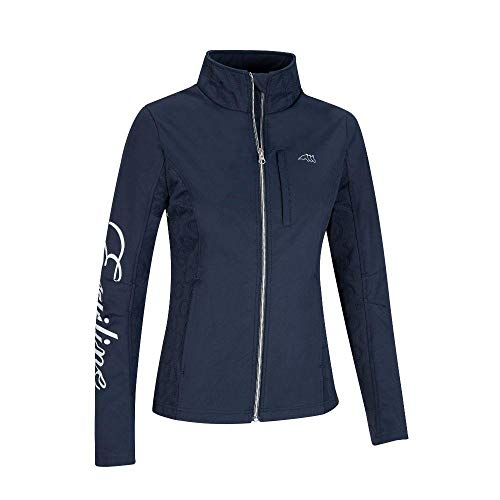 Equiline Jacke Honey Soft Shell | Farbe: Blue | Größe: XS