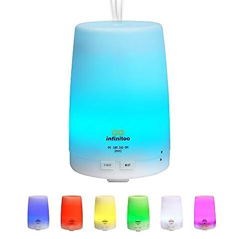 Luftbefeuchter | infinitoo 300ml Ultraschall Aroma Diffuser | Aromatherapie Diffusor