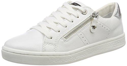 TOM TAILOR Damen 4892701 Espadrilles Weiß (White)