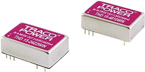 Convertisseur Convertisseur Convertisseur DC/DC pour C.I TracoPower THD 15-2423WIN Nbr. de sorties: 2 x 24 V/DC 15 V/DC, -15 V/DC 500 mA 15 W 1 pc(s 555cf0