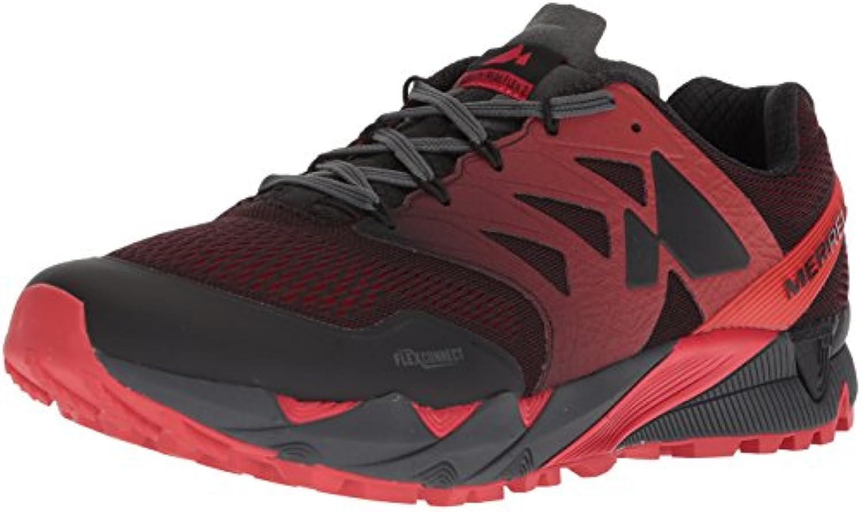 Merrell Agility Peak Flex Flex Flex E-Mesh Scarpe da Uomo scarpe da ginnastica Trail Running Trainers, nero J12503 (46.5) | Affidabile Reputazione  1a56e0