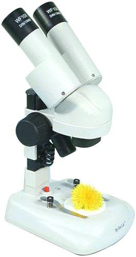 Betzold Compra Stereo Mikroskop für Einsteiger, 20-fache Vergrößerung, netzunabhängige LED-Beleuchtung 04 Stereo
