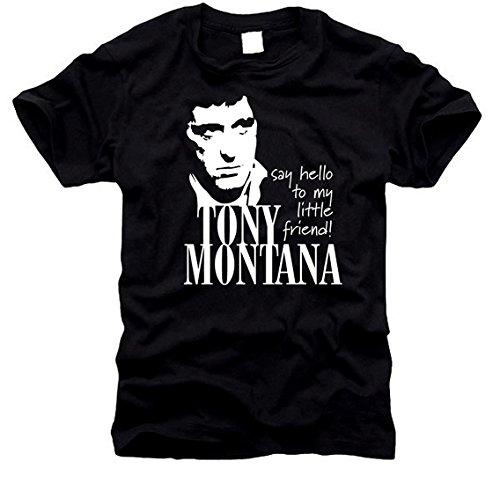 e - Al Pacino, T-Shirt, Gr. M (Scarface Tony Montana)