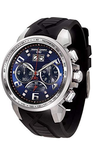 Jorg Gray Reloj cronógrafo para Hombre de Cuarzo con Correa en Caucho JG5600-23