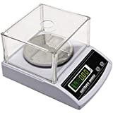 CGOLDENWALL Balanza Analítica Científica 0.001g Electrónica de Laboratorio Digital de Alta Precisión Báscula para Cocina