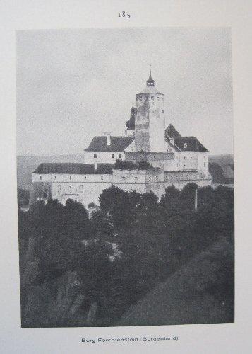 Österreich, Burgenland, Burg Forchtenstein / Marburg an der Drau (Maribor) - historischer Fotodruck - 1926