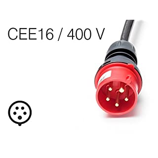 Juice Connector Elektro-Fahrzeug Ladekabel-Stecker CEE16 / 400V 16A für Juice Booster 2 tragbares Ladegerät