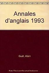 Annales d'anglais 1993