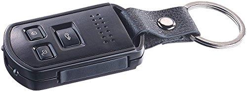 OctaCam Schlüsselbundkamera: Full-HD-Mini-Schlüsselbund-Kamera mit Vibrations-Feedback, Vollmetall (Kamera Schlüssel)