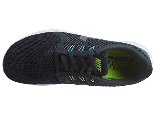 Nike Damen Wmns Free Rn Cmtr Laufschuhe Mehrfarbig (Anthrazit/Gammablau/Volt/Cool Grau)