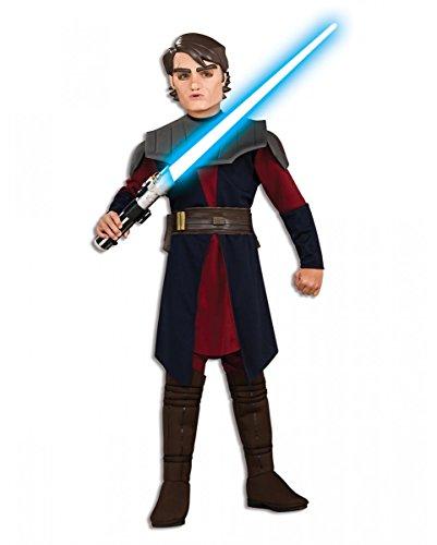 kywalker Kinderkostüm Deluxe für Fasching & Halloween L (Baby Anakin Skywalker Kostüme)