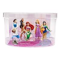 Disney Princess Figurine Figures Figure Set of 5 Playset Ariel Belle Rapunzel