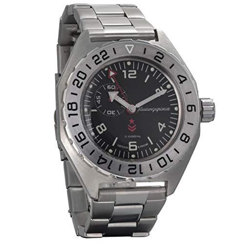 Vostok komandirskie Military Russian Mechanical self-winding Mens Wrist Watch 2416b/650539