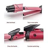 StyleHouse Hair Straightner and Curler for Women, 2 in 1 Hair Straightener and curler