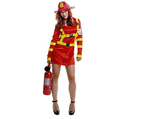Imagen de my other me  disfraz de bombera para mujer, m l viving costumes 200973