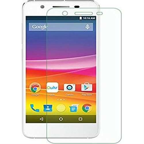 SNOOGG Micromax Canvas Knight 2 E471Full Body Tempered Glass Screen Protector [ Full Body Edge to Edge ] [ Anti Scratch ] [ 2.5D Round Edge] [HD View] - White  available at amazon for Rs.99