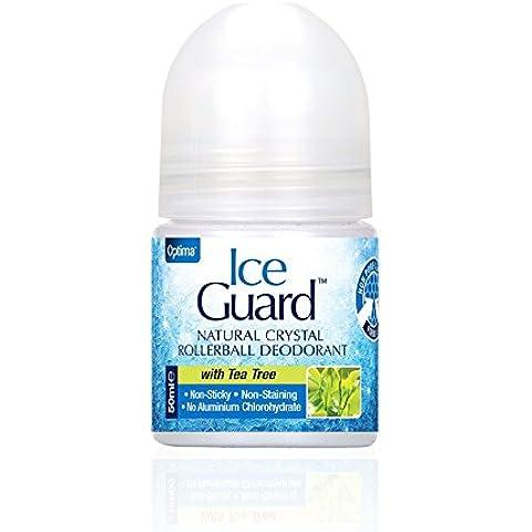Ice Guard Cristal Natural Roll on Desodorante con árbol del té 50ml