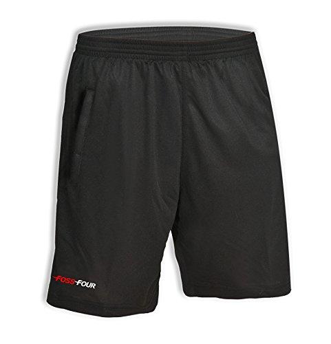 FossFour Schiedsrichter-Hose Fox, Farbe:schwarz, Größe:XL/XXL