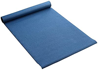 Yogamatte rutschfest - auch geeignet für Pilates, Gymnastik, Fitness und als Sportmatte - DEUTSCHE QUALITÄT - 183cm x 60cm x 3mm - blau