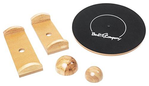 Bad Company | Balance Board Set aus Holz (MDF) | Therapiekreisel in Studio-Qualität | 45 cm
