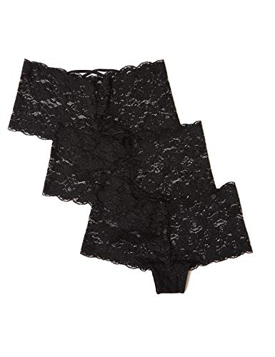 Amazon-Marke: Iris & Lilly BELK256M3 Women Underwear, Schwarz (Black), M