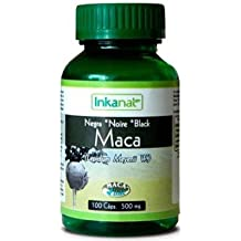 Maca Negra gelatinizada al 100% pura y natural (100 cápsulas)