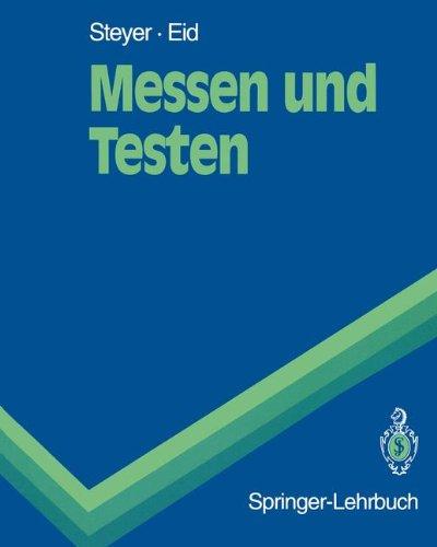 Messen und Testen (Springer-Lehrbuch)