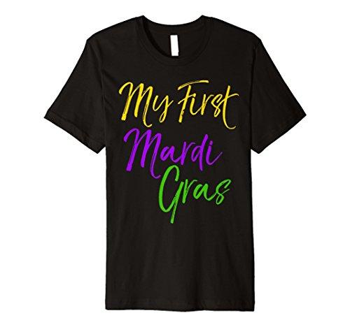 My First Mardi Gras Shirt Süßer Damen Party New Orleans Tee
