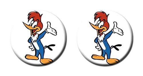 Woody Woodpecker Custom Durable 2pcs Crok Coaster Home Stylish Decoration Cup Mat Mug Can Water Cup Mat by TimMaMa