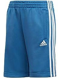 Adidas Yb 3S Kn Pantalón Corto, Niños, Azul/Blanco, 176 (15/16 años)