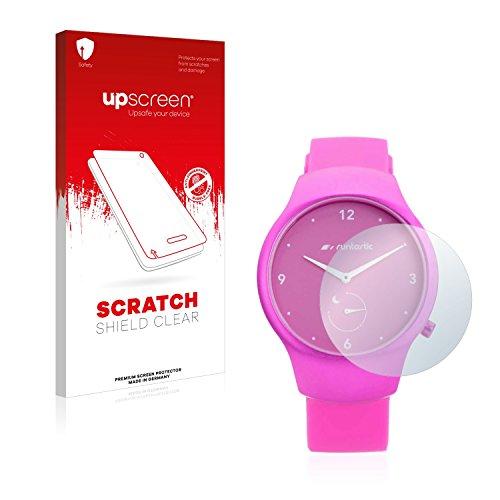 upscreen Schutzfolie kompatibel mit Runtastic Moment Fun - Kristallklar, Kratzschutz, Anti-Fingerprint
