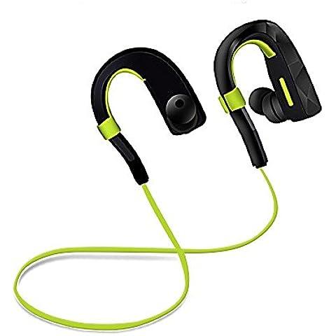 Auricolari In-Ear Wireless,ARCHEER AH20 Cuffie Sportive Bluetooth Wireless Auricolare Stereo senza Filli con Microfono HD ,Headset Wireless Portatile per jogging, corsa, sport, palestra Compatibili con iPhone ,Smartphone ,Android ,IOS ed altri dispositivi bluetooth ecc