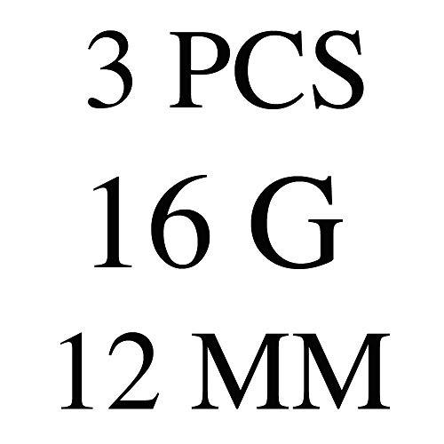 Zoom IMG-1 evbea 3 pz piercing naso