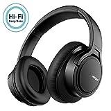 mpow h7 casque bluetooth sans fil,casque audio confortable cache-oreilles portable et pliable,cvc