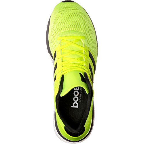 adidas Adizero Boston 6, Scarpe da Corsa Uomo Giallo (Solar Yellow/utility Black/footwear White)