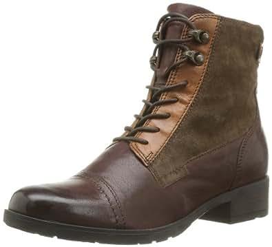 Clarks Morgan Carla, Boots femme - Marron (Brown Combi Lea), 35.5 EU