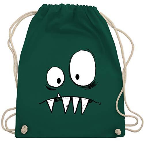 Kinder - Monster Kostüm - Unisize - Dunkelgrün - WM110 - Turnbeutel & Gym Bag ()