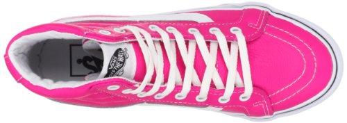 Vans U SK8-HI SLIM VQG37MO Unisex-Erwachsene Sneaker Pink ((Neon Leather))