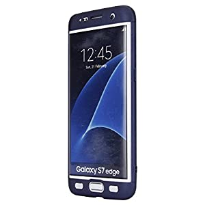 Custodia Samsung Galaxy J7 Prime, Galaxy J7 Prime Cover, JAWSEU Ultra Sottile [360 gradi] 3 in 1 Protezione Completa liscio Macchia Duro PC Custodia per Samsung Galaxy J7 Prime Cover Case Caso Gomma Custodia Anti Graffio Anti Scossa Anti-Scratch Antiurto Shock-Absorption Coperture Protectiva Bumper Custodia Cover per Samsung Galaxy J7 Prime/ON7 2016
