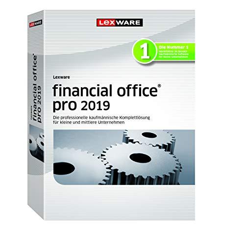Lexware financial office 2019|pro-Version Minibox (Jahreslizenz)|Einfache kaufmännische Komplett-Lösung für Freiberufler, Selbständige und Kleinunternehmen|Kompatibel mit Windows 7 oder aktueller