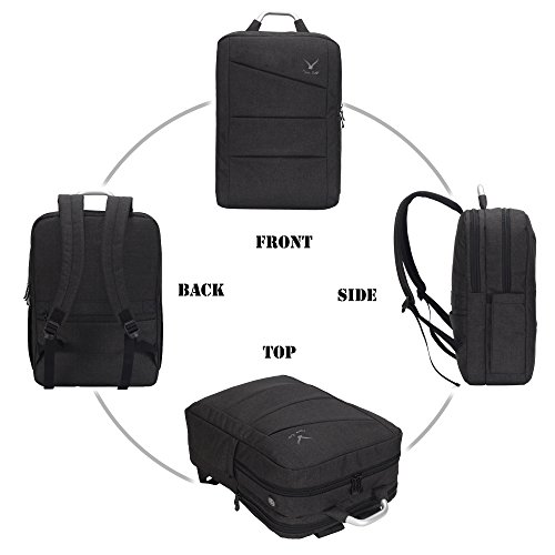 Imagen de veevan  para ordenador portátil de 17 pulgadas con protección genaral para hombre negro  alternativa