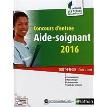 Concours d'entrée aide-soignant 2016